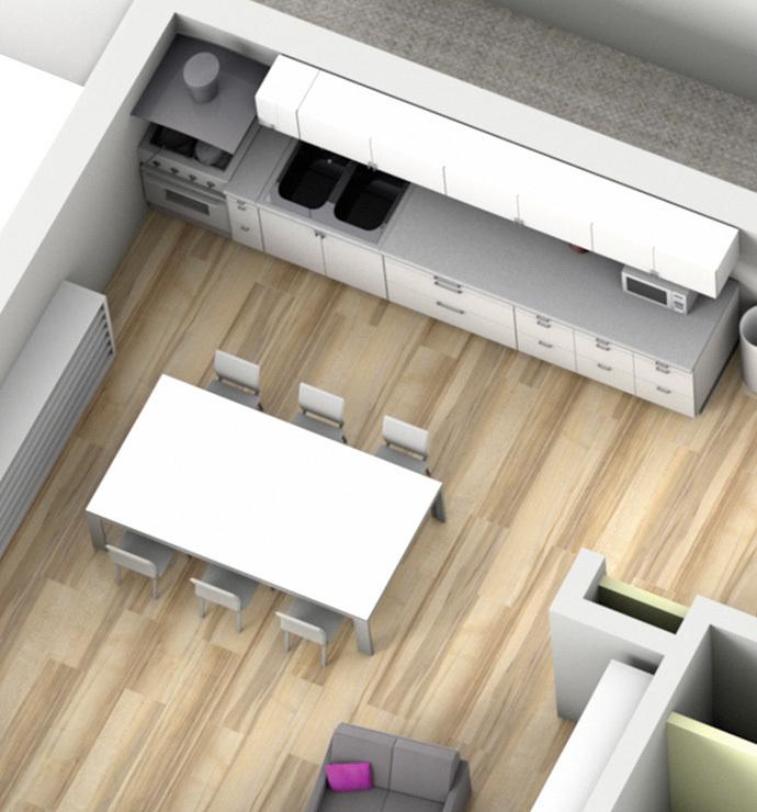 Özel odalar: Mutfak, kiler