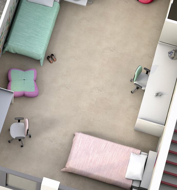 Özel odalar: yatak odaları